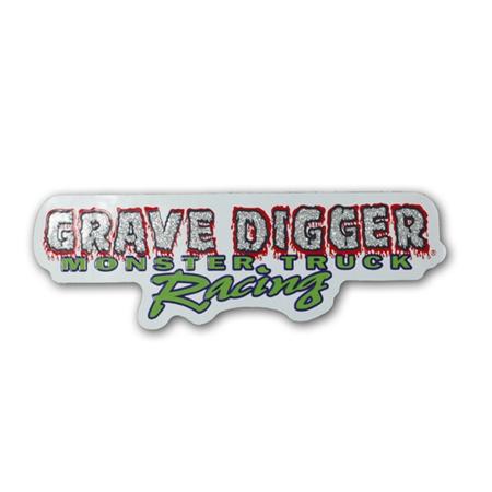 Grave Digger Logo Sticker