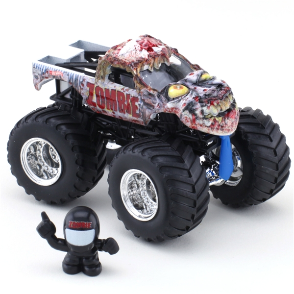 hot wheels zombie die cast truck monster jam figure series. Black Bedroom Furniture Sets. Home Design Ideas