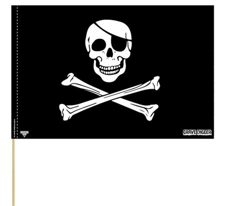 Grave Digger Flag